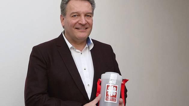 Ředitel brněnské Charity Oldřich Haičman.