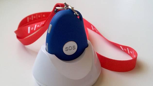 SOS tlačítko. Ilustrační foto.