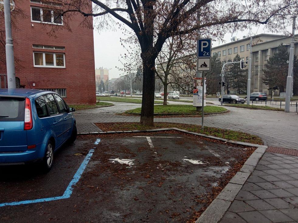 Ulice Nerudova, Střed.