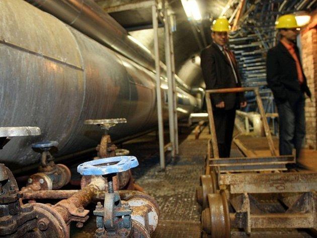Kolektory v brněnském podzemí