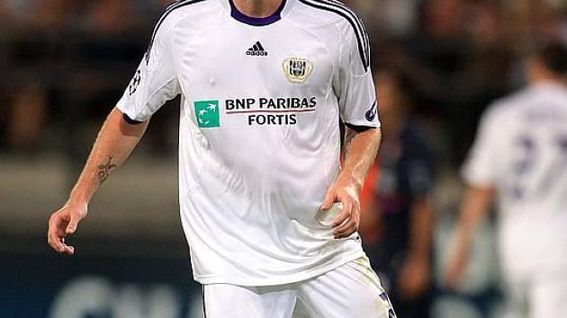 Ondřeje Mazucha ještě v dresu Anderlechtu Brusel.