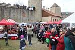 Na brněnský hrad Veveří se o víkendu sjeli milovníci moravského uzeného.