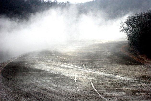 Vápnění brněnské přehrady