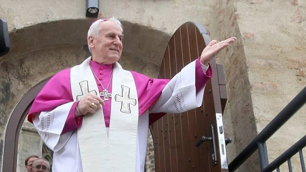 Biskup Vojtěch cikrle ragoval na současnou situaci a děkuje všem za dodržování nařízení i trpělivost.