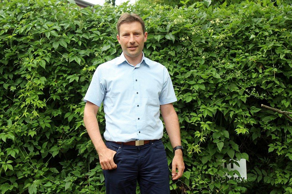 Ředitel firmy Kordis Jiří Horský.