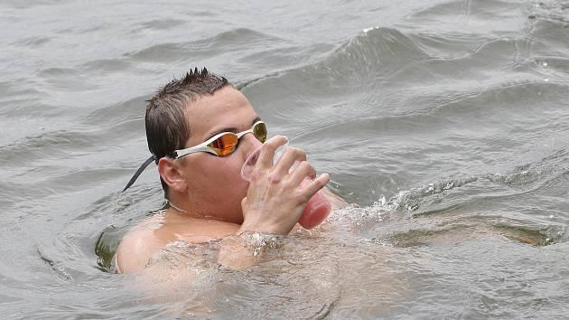 Matěj Kozubek vyhrál maraton v Brněnské přehradě už pětkrát.