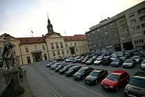 Dominikánské náměstí v Brně.