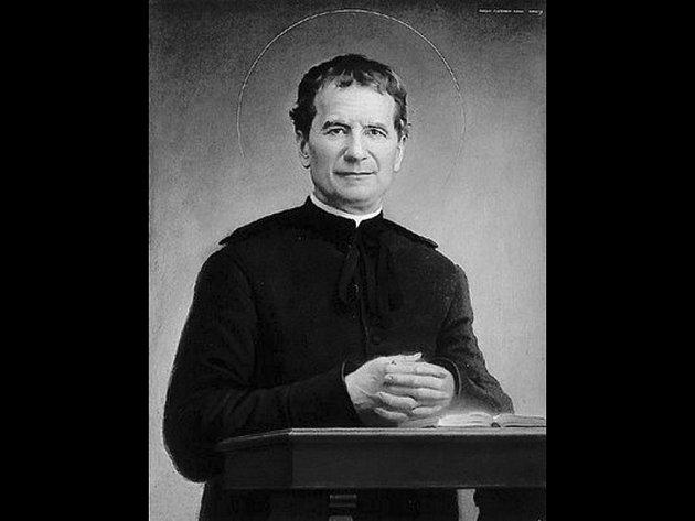 Svatý Jan Bosco (vlastním jménem Giovanni Melchiorre Bosco).