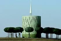 Vizualizace podoby nové kaple v Nesvačilce.