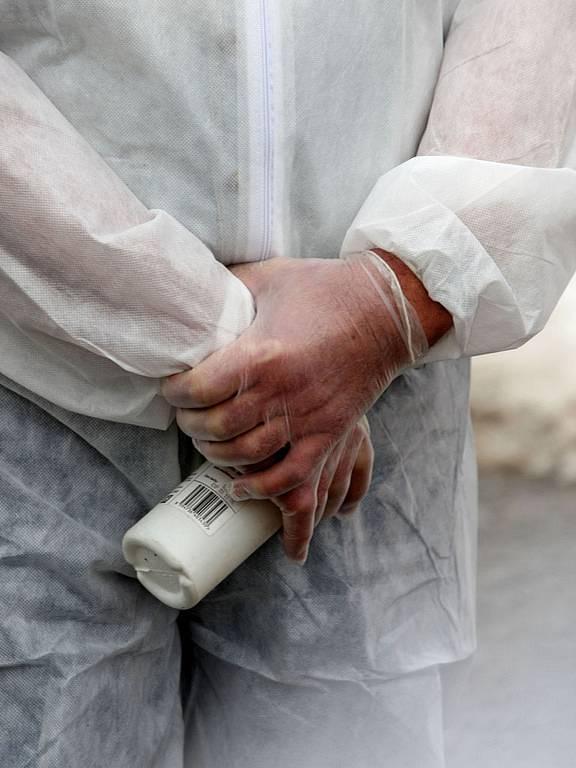 Likvidace chovu hus nakažených ptačí chřipkou na Hodonínsku