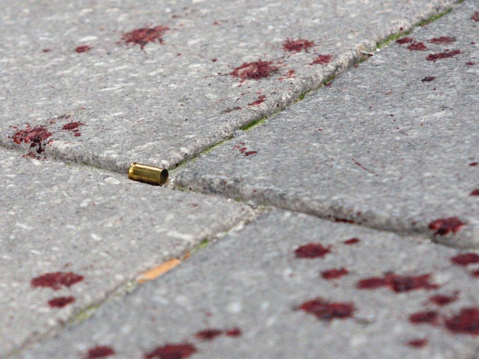 Výsledek bitvy - náboje a krev.