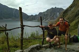 Petr Vacula při cestování a inspiraci na Filipínách a Thaiwanu.