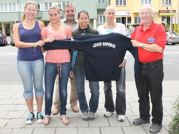 Tým City of Brno Ladies.
