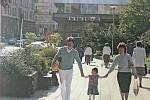 V domě módy Vkus ve Veselé ulici se až do roku 1990 šila dámská i pánská konfekce. V budově bývalo točité schodiště, na kterém se za minulého režimu odehrávaly všechny důležité módní prohlídky v Brně.