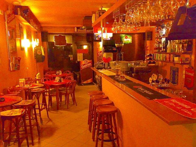 Restaurace F.A.Bar v Brně.
