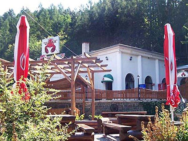 Restaurace U raka v Brně.