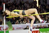 Olympijská vítězka Jelena Slesarenková.
