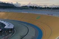 Okruh v Karibiku hostí mistrovství Evropy dráhových cyklistů.