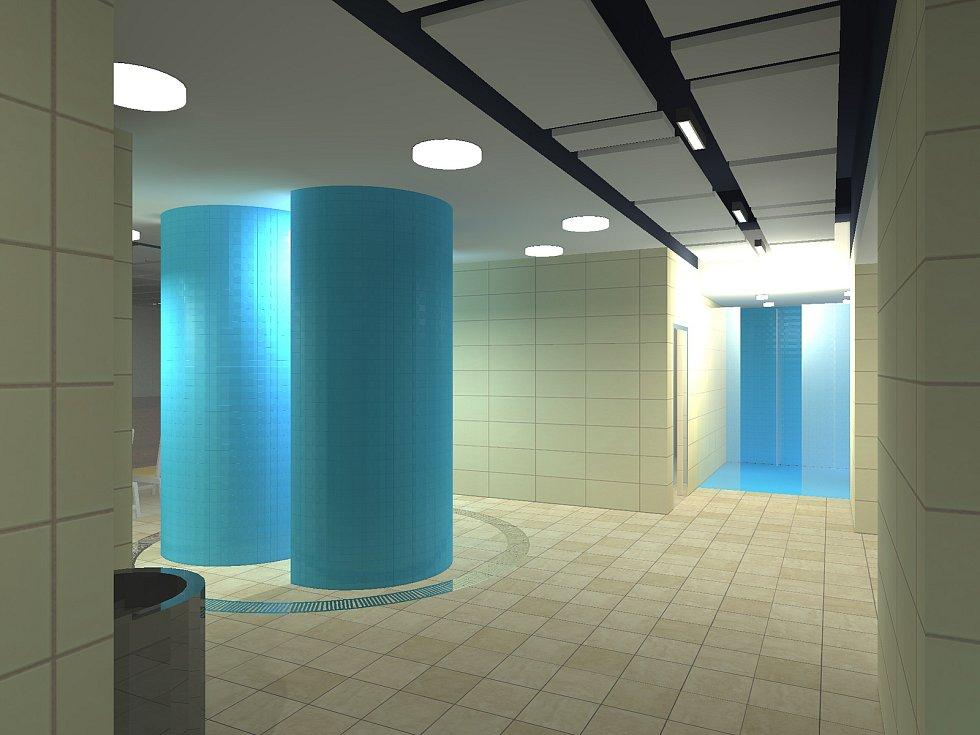 Do nového wellness centra na plaveckém stadionu za Lužánkami se lidé podívají už v květnu.
