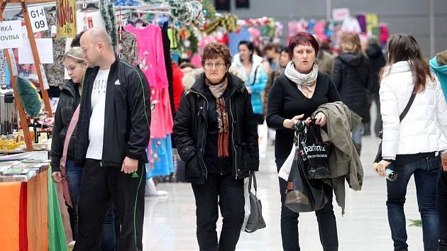 Na výstavišti v Brně začaly vánoční trhy.