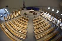 Nový kostel blahoslavené Marie Restituty v brněnském sídlišti Lesná na snímku z 11. září 2020.