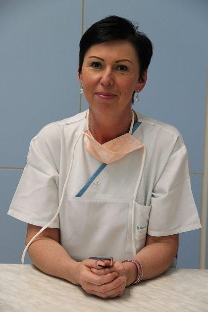 Bohumila Dvořáková - ambulantní sestra plicního oddělení
