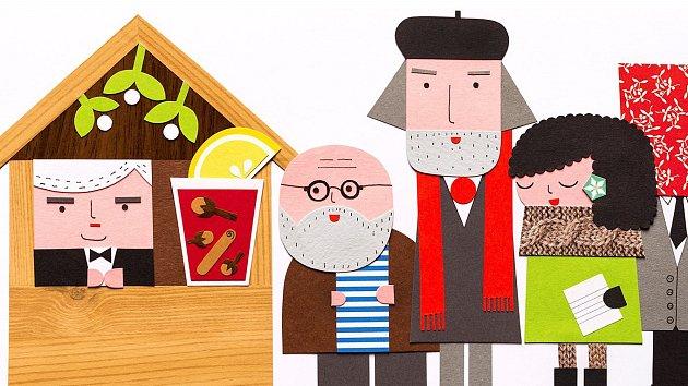 Na letošních vánočních hrnečcích jsou vyobrazené známé brněnské osobnosti současnosti i minulosti.