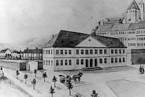Archivní snímky brněnského hlavního nádraží.