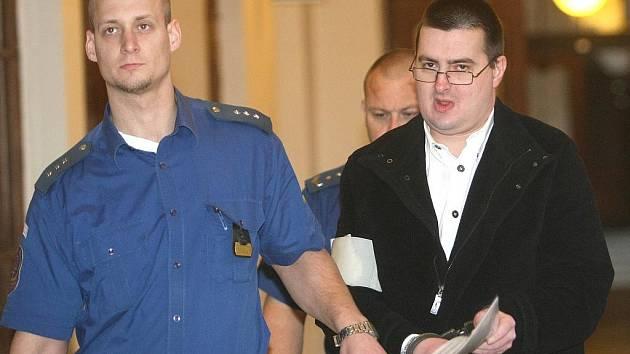 Josef Kapitančik u Krajského soudu v Brně.