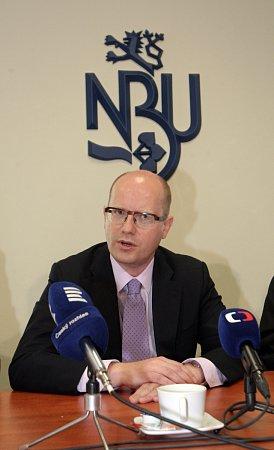 Premiér Bohuslav Sobotka otevřel vúterý vBrně Národní centrum pro kybernetickou bezpečnost.
