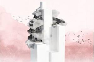 Autory vítězného návrhu s názvem Cloud In na možnou podobu střechy AZ Toweru jsou Adam Vácha a Lucie Střeďanská.