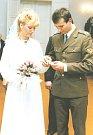 Rodiče královny krásy České republiky, když se brali.