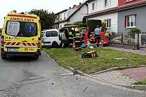 Dopravní nehoda v Sokolnicích na Brněnsku.