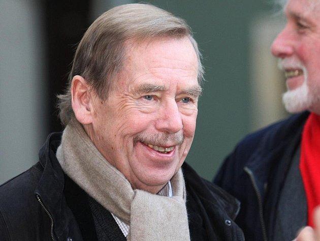 Václav Havel v Brně v listopadu roku 2009.