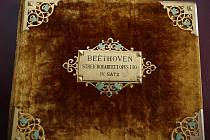 Ludwig van Beethoven - partitura ke kvartetu (opus 130).