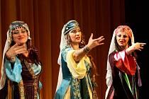 Dvacítka souborů orientálních tanců předvedla své umění na 5. ročníku Orient Show v Brně.