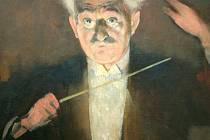 Podobizna Leoše Janáčka - dirigenta.