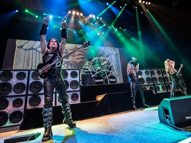 Kapela Manowar zahraje v Brně hity ze svých legendárních alb Kings Of Metal a Gods Of War.