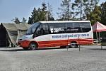 Pojízdný covidbus bude testovat pacienty na covid