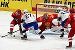 Zápas Rusko - Norsko.