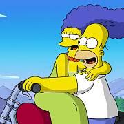 Záběr z filmu The Simpsons.