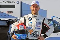 Italský automobilový jezdec Thomas Biagi.