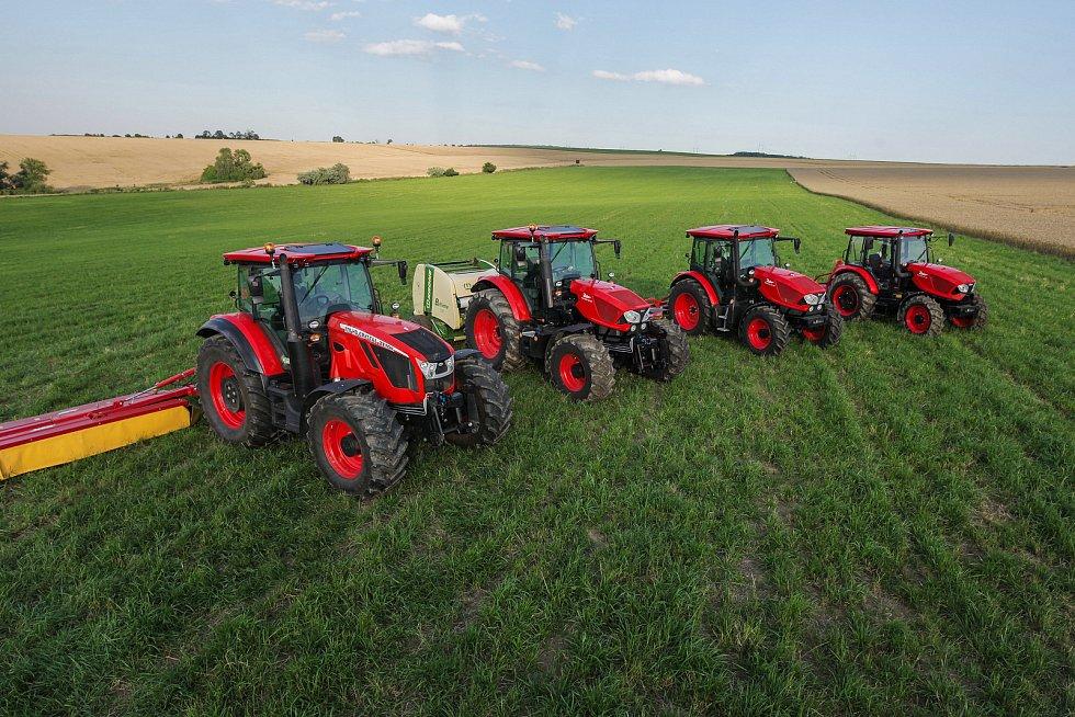 Výrobce traktorů Zetor slaví pětasedmdesátileté výročí.