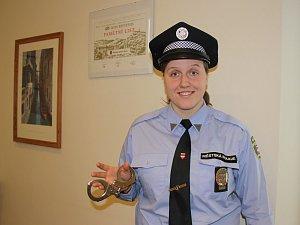 Třiadvacetiletá Barbora Lapešová byla dosud jedním z nejmladších strážníků, který v Brně slouží.