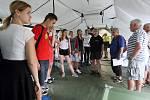 Brno 29.5.2018 - cvičení Trauma týmu ČR v areálu FN Bohunice v Brně.