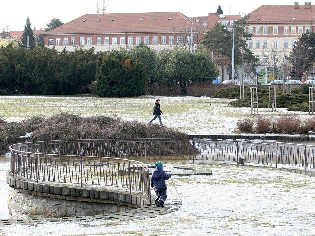 Park na Kraví hoře v brněnské Masarykově čtvrti. Ilustrační foto.