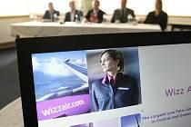 Letadla společnosti Wizz Air budou dvakrát týdně létat do holandského Eindhovenu.