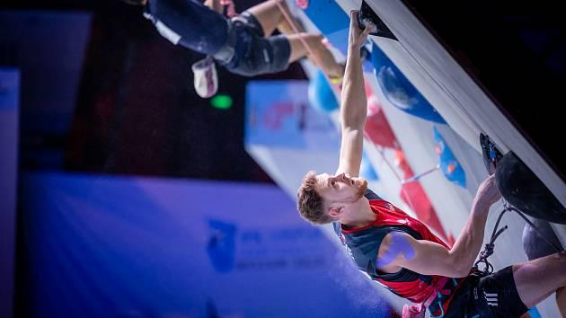Lezec Jan Kříž si na mistrovství Evropy v Moskvě vedl nejlépe v rychlosti.