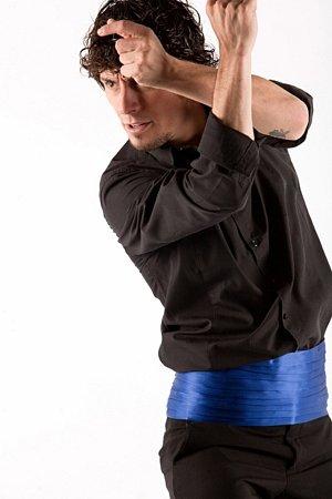 Tanečník zBarcelony Jesús Carmona patří kflamenkové elitě.