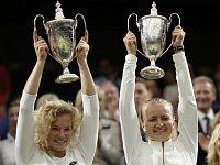 Krejčíková po triumfu na Wimbledonu: Je nádherné vidět své jméno mezi legendami